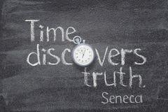 Czas prawdy Seneca Obrazy Royalty Free