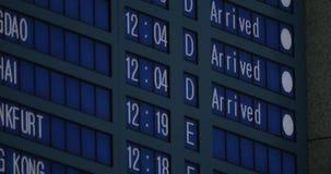 Czas przyjeżdżający samoloty w lota rozkładzie zbiory