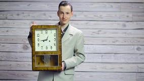 Czas robi? biznesowi, pieni?dze zdjęcie wideo
