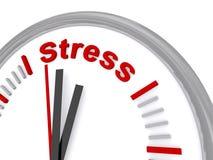 Czas stres ilustracja wektor