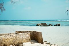 czas wolny i podróż tropikalny seascape obrazy stock
