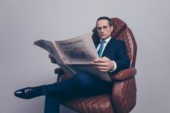 Czas wolny radości lidera przywódctwo stylu życia ekonomisty elegancki bankowiec zdjęcia royalty free