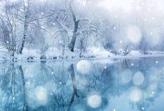 czas zima Zdjęcie Royalty Free