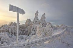 czas zima Zdjęcia Stock