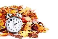 Czas zmiany światła dziennego Savings fotografia stock