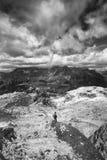 Czasem robią was czuć malutkiego Alps Zdjęcie Royalty Free