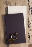 Czasopismo kompas Zdjęcie Royalty Free