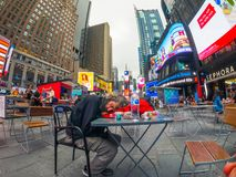 Czasu dnia czasu Kwadratowy pejzaż miejski obraz stock