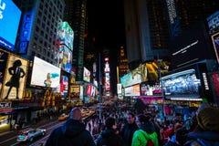 Czasu kwadrat, Manhattan, NYC Zdjęcie Royalty Free