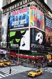 Czasu kwadrat w Manhattan Nowy Jork Zdjęcie Stock