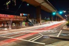 Czasu Lapes Krog Uliczny tunel Atlanta dziąsła fotografia stock