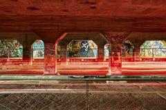 Czasu Lapes Krog Uliczny tunel Atlanta dziąsła obrazy stock