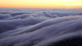Czasu upływ chmury zbiory wideo