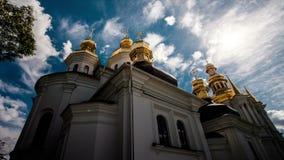 Czasu upływ Kijów Lavra Kijowski kościół, monaster, religia zdjęcie wideo
