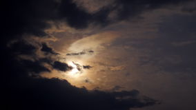 Czasu upływ księżyc zbiory wideo