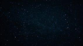 Czasu upływ nocne niebo zbiory wideo
