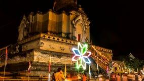 Czasu upływ stara pagoda z kolorowym przędzalnictwem lighting6 zdjęcie wideo