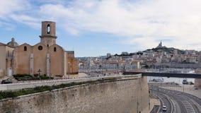 Czasu up?yw w Marseille, Francja zdjęcie wideo