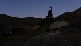 Czasu upływ zapamiętanie kopalnia złota przy zmierzchem - 4K zbiory