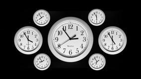 Czasu upływ - zegary zbiory wideo