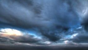 Czasu upływu chmury zdjęcie wideo