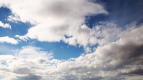 Czasu upływu chmury zbiory wideo