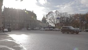 Czasu upływu Cinestyle dróg święty Petersburg zdjęcie wideo