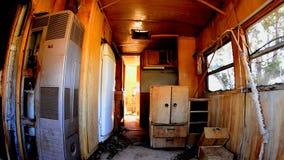 Czasu upływu Dolly zapamiętanie Motorowy dom w pustyni zbiory wideo