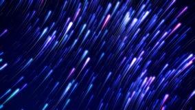 Czasu upływu Gwiaździsty pławik W nocnym niebie (kometa tryb) zbiory wideo