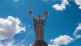 Czasu upływu kraju ojczystego pomnikowa matka symbol zwycięstwo w wojnie zbiory