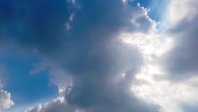 Czasu upływu Piękny krajobraz z ampułą, chmurą i wschodem słońca, zbiory