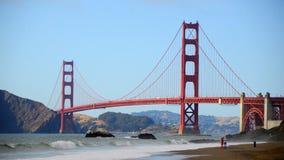 Czasu upływ Golden Gate Bridge San Fransisco