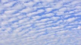 Czasu upływ niebieskie niebo i chmury zdjęcie wideo
