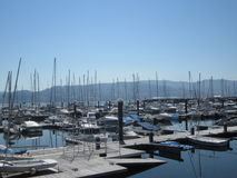 Czasu wolnego port w Combarro, Pontevedra Obrazy Stock