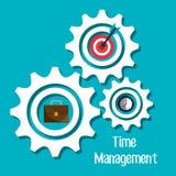 Czasu zarządzania projekt Fotografia Stock