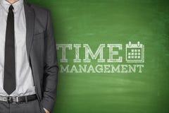 Czasu zarządzanie na blackboard Obrazy Stock