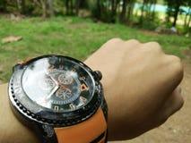 Czasu zegarka godziny Use Spotyka pamięć Fotografia Stock
