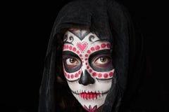 Czaszka Halloween stawia czoło Obraz Royalty Free