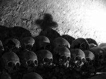 Czaszka i kości obraz royalty free