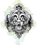 czaszka ilustracyjny wojownik Zdjęcia Royalty Free