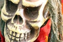 Czaszka lub śmiertelna głowa dla Halloween Fotografia Royalty Free