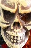 Czaszka lub śmiertelna głowa dla Halloween Fotografia Stock