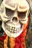 Czaszka lub śmiertelna głowa dla Halloween Zdjęcie Stock