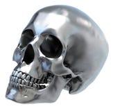 czaszka metalicznej Obraz Royalty Free