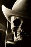 czaszka western Fotografia Stock