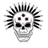 2 czaszki Obraz Royalty Free
