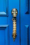 Czaszki drzwiowa rękojeść Zdjęcie Stock
