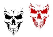 czaszki ja target4802_0_ Zdjęcie Stock