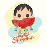 Cześć lato Zdjęcia Stock