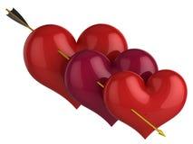 cześć miłość res Zdjęcia Stock